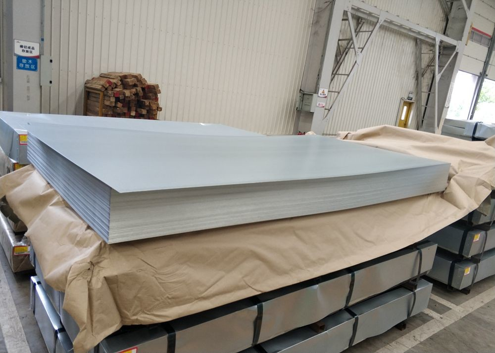 Zinc Coating G90 Container Plate Hot Dipped Galvanized Sheet Metal